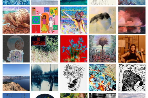 Creative People Leading Climate Action grid of art images