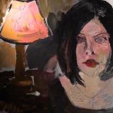 Oil paint animation still by Jonathan Wilhelm