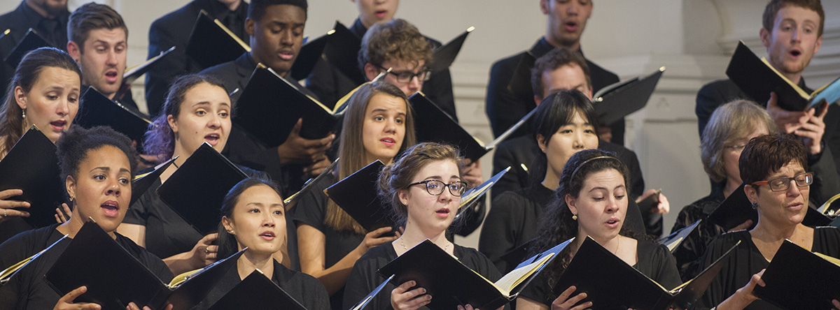 UMass Bach Festival Choir