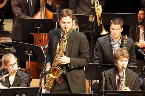 Jazz saxophone soloist