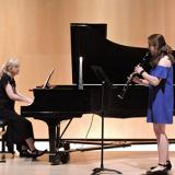 Sarah Harney, clarinet with Nadine Shank, piano