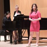 Caroline Lee, mezzo-soprano with Sarah Kim, piano
