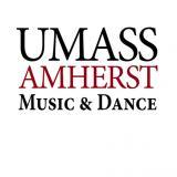 UMass Amherst Department of Music & Dance logo