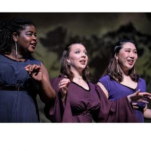 A scene from UMass Opera - The Magic Flute