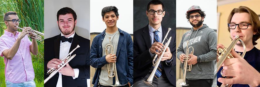 ITG Scholarship winners Cristovao Fagundes, Ethan Cogswell, Helkin Sosa, Matt Dao, Marcus Gonzalez, Thomas Gray