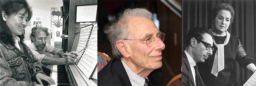Robert Stern with student, at 75th Anniversary, with Dorothy Ornest
