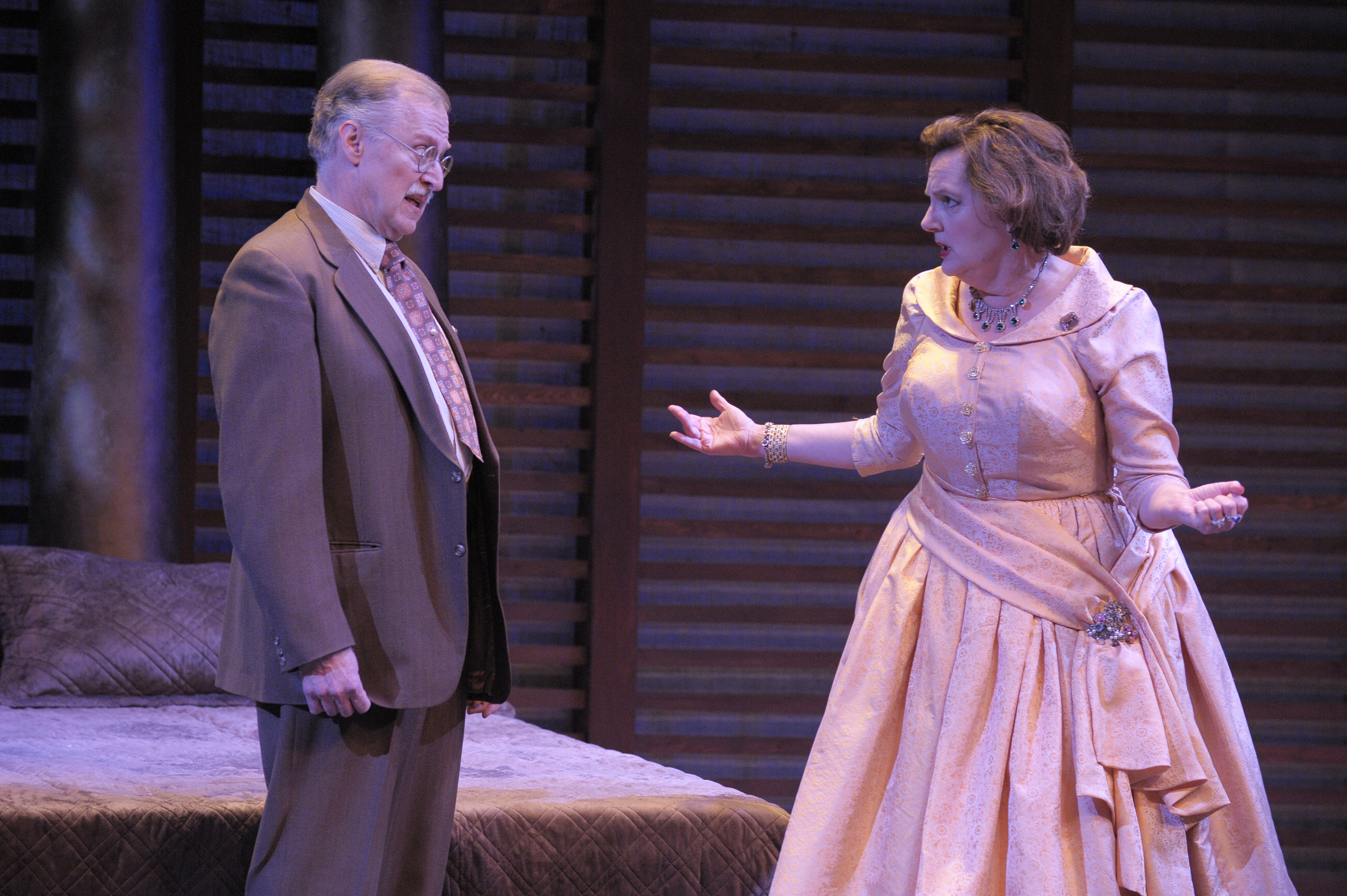 Marty Norden and Julie Nelson in Cat on a Hot Tin Roof