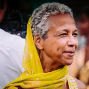 Professor Judyie Al-Bilali, UMass Amherst Department of Theater, photo by Abdul Arafat